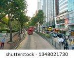 hong kong  china   circa... | Shutterstock . vector #1348021730