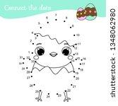connect the dots. children...   Shutterstock . vector #1348062980