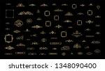 exclusive vintage decor... | Shutterstock .eps vector #1348090400