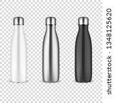 vector realistic 3d white ... | Shutterstock .eps vector #1348125620