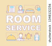 room service word concepts...