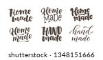 vector illustration set of... | Shutterstock .eps vector #1348151666