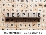 Small photo of Respite word concept