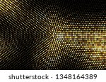 golden luxury halftone... | Shutterstock .eps vector #1348164389