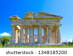temple of neptune at famous... | Shutterstock . vector #1348185200