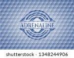 adrenaline blue emblem with...   Shutterstock .eps vector #1348244906