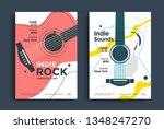 indie rock poster design...   Shutterstock .eps vector #1348247270