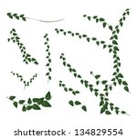 ecological concept  an... | Shutterstock .eps vector #134829554