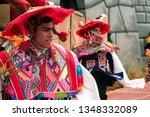 cusco  peru   circa june 2013 ... | Shutterstock . vector #1348332089