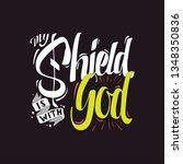 handlettering typography my... | Shutterstock .eps vector #1348350836