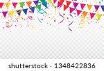 celebration background template ... | Shutterstock .eps vector #1348422836