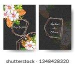 beautiful modern invitation... | Shutterstock .eps vector #1348428320