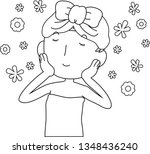 this is an illustration of a... | Shutterstock .eps vector #1348436240