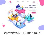 corporate  joint company.... | Shutterstock .eps vector #1348441076