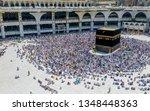 mecca saudi arabia september 24 ... | Shutterstock . vector #1348448363