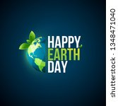 "earth day logo design. ""happy... 