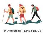 sport or outdoor activity... | Shutterstock .eps vector #1348518776