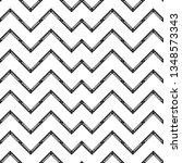 art deco black and white line... | Shutterstock .eps vector #1348573343