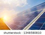 solar panel  alternative... | Shutterstock . vector #1348580810