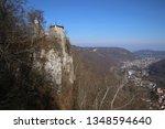 castle lichtenstein swabian jura   Shutterstock . vector #1348594640