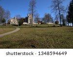 castle lichtenstein swabian jura   Shutterstock . vector #1348594649