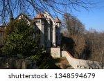 castle lichtenstein swabian jura   Shutterstock . vector #1348594679