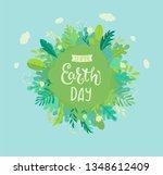 banner for earth day for...   Shutterstock .eps vector #1348612409