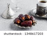 traditional arabian bitter... | Shutterstock . vector #1348617203