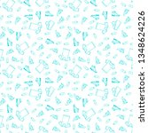 background sport pattern.... | Shutterstock .eps vector #1348624226