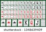 playing card deck   Shutterstock .eps vector #1348639409