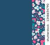 cute decorative border created...   Shutterstock .eps vector #1348654790