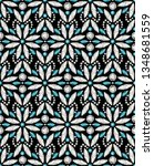 jewellery seamless pattern with ... | Shutterstock .eps vector #1348681559