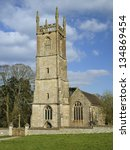 st. leonard's church  tortworth ... | Shutterstock . vector #134869454