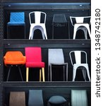 chairs on shelves | Shutterstock . vector #1348742180
