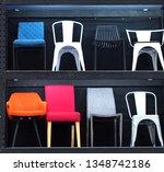 chairs on shelves | Shutterstock . vector #1348742186