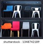 chairs on shelves | Shutterstock . vector #1348742189