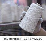 hands man working in textile... | Shutterstock . vector #1348742210