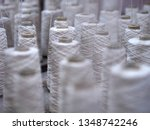 row of textile threads industry ... | Shutterstock . vector #1348742246