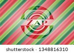zap christmas colors style... | Shutterstock .eps vector #1348816310