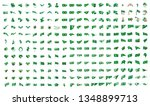 very big collection of vector... | Shutterstock .eps vector #1348899713