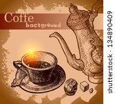 Hand Drawn Vintage Coffee...