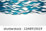 blue and grey abstract... | Shutterstock . vector #1348915019