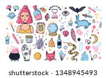 modern wizardry and witchcraft... | Shutterstock .eps vector #1348945493