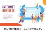 vector internet business... | Shutterstock .eps vector #1348946150
