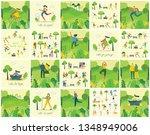 vector illustration concept... | Shutterstock .eps vector #1348949006
