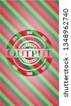 output christmas colors style... | Shutterstock .eps vector #1348962740