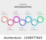 business data visualization...   Shutterstock .eps vector #1348977869