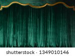 Green Curtain Of Luxurious...