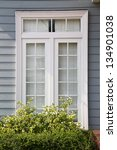 modern residential window and... | Shutterstock . vector #134901038