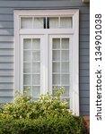 modern residential window and...   Shutterstock . vector #134901038